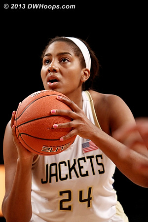 ACCWBBDigest Photo  - GT Players: #24 Shayla Bivins