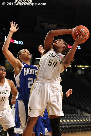 ACCWBBDigest Photo  - GT Players: #54 Roddreka Rogers