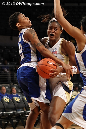 This ended up being #4  - GT Players: #3 Kaela Davis