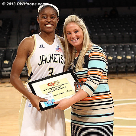 All-tournament  - GT Players: #3 Kaela Davis