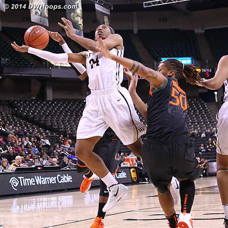 Rejected from behind by Jessica Thomas  - WAKE Players: #24 Kelila Atkinson