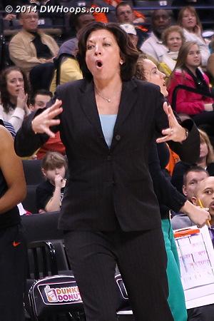 Katie Meier can't believe that call  - MIA Players: Head Coach Katie Meier