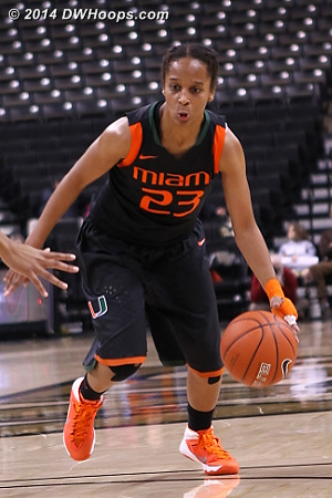 Digest 2014 Most Outstanding Miami Player Adrienne Motley