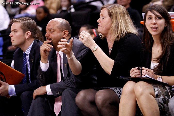 Frustration on Wake's bench