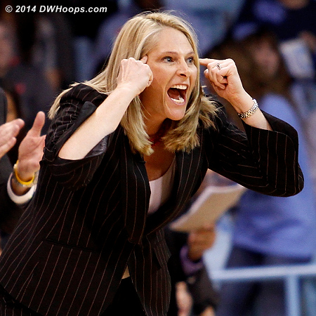Frese tells her defense to think  - MD Players: Head Coach Brenda Frese
