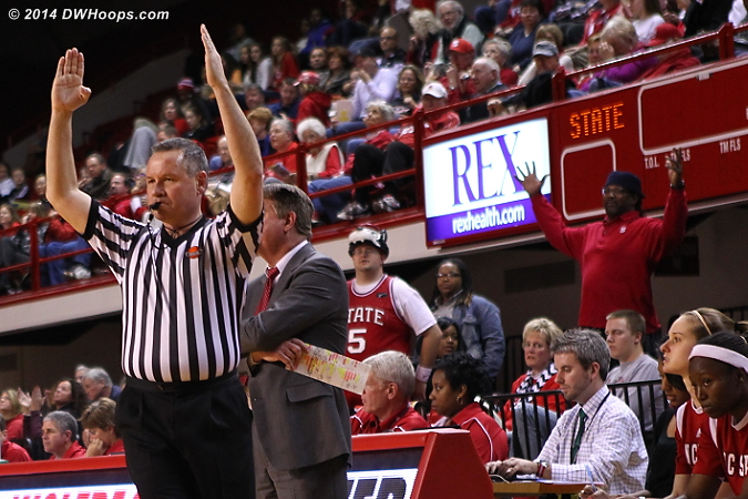 Same signal, different meaning  - NCSU Players:  NCSU Fans