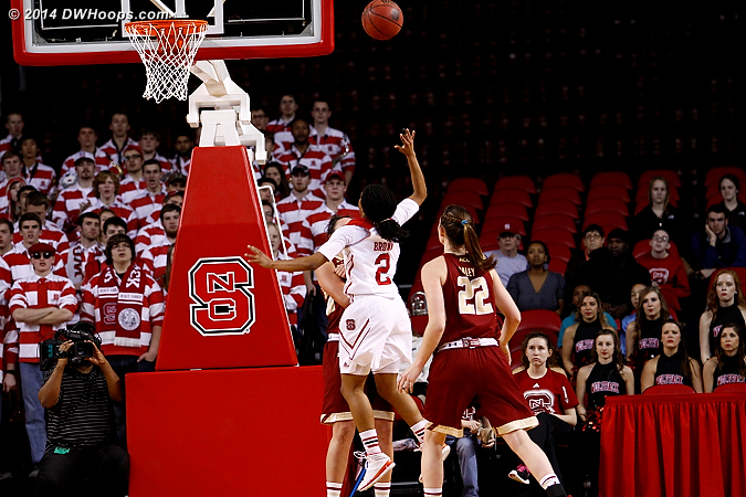 BC takes the charge  - NCSU Players: #2 Le'Nique Brown