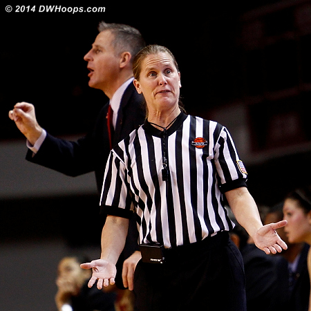 Coach Moore receives the universal signal for