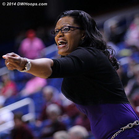 ACCWBBDigest Photo  - CLEM Players: Head Coach Audra Smith