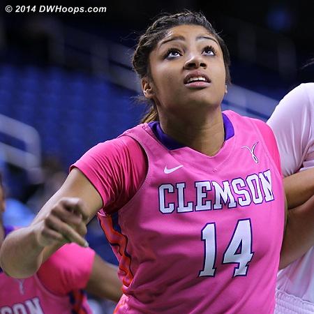 ACCWBBDigest Photo  - CLEM Players: #14 Paige Mosley