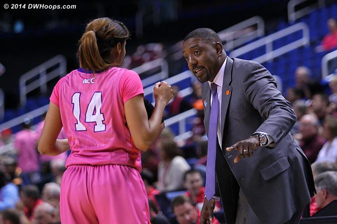 ACCWBBDigest Photo  - CLEM Players: Assistant Coach Daryl Oliver