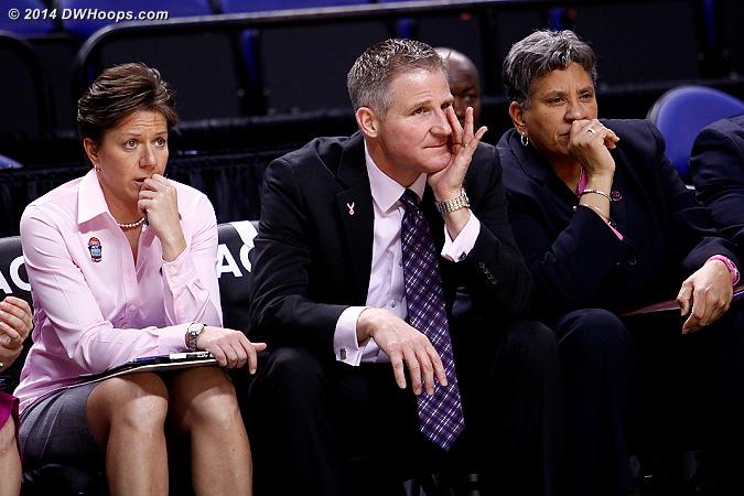 ACCWBBDigest Photo  - BC Players: Head Coach Erik Johnson, Assistant Coach Yvonne Hawkins, Assistant Coach Shelley Sheets
