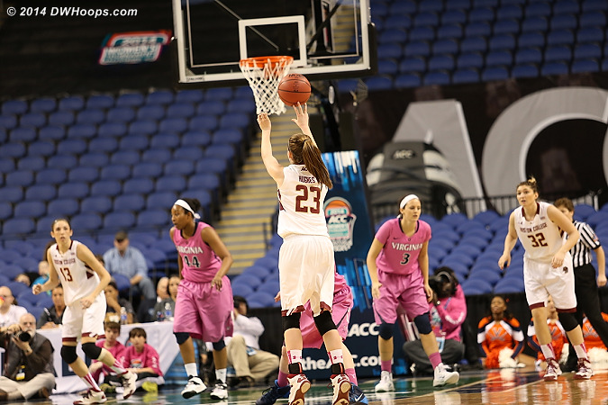 ACCWBBDigest Photo  - BC Players: #23 Kelly Hughes