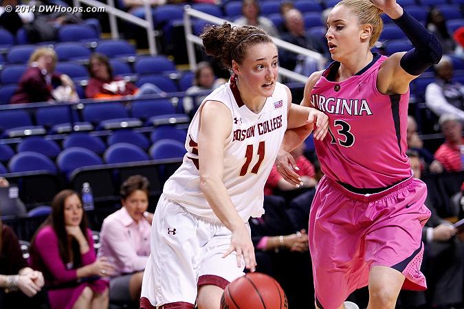 ACCWBBDigest Photo  - UVA Players: #13 Tiffany Suarez