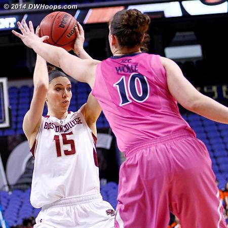 ACCWBBDigest Photo  - BC Players: #15 Lauren Engeln