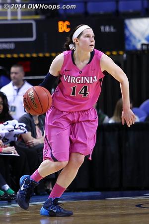ACCWBBDigest Photo  - UVA Players: #14 Lexie Gerson