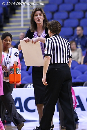 ACCWBBDigest Photo  - UVA Players: Head Coach Joanne Boyle