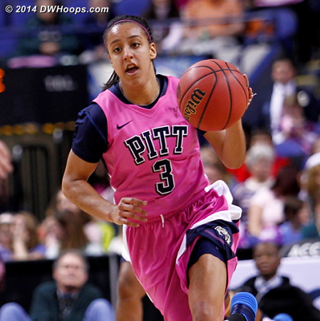 ACCWBBDigest Photo  - PITT Players: #3 Brianna Kiesel