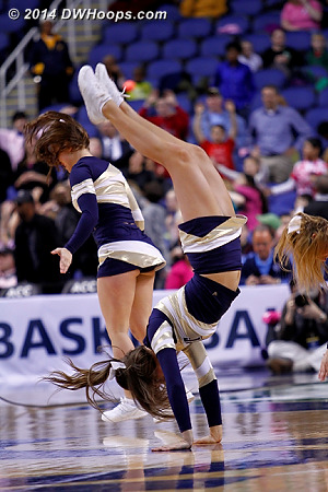 ACCWBBDigest Photo  - PITT Players:  Pittsburgh Cheerleaders