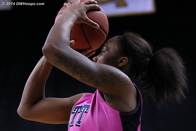 ACCWBBDigest Photo  - PITT Players: #0 Asia Logan
