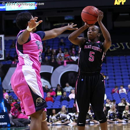 ACCWBBDigest Photo  - WAKE Players: #5 Chelsea Douglas
