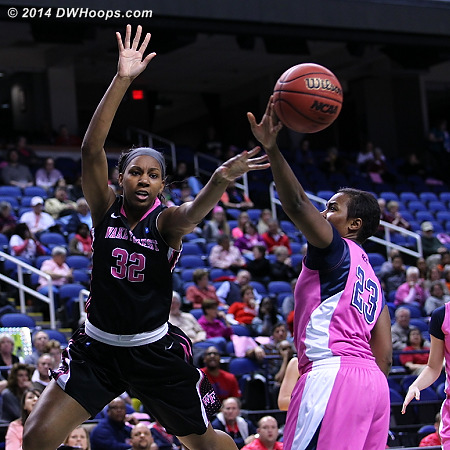 Depth was a great weapon for Wake  - WAKE Players: #32 Milan Quinn - PITT Tags: #23 Ashlee Anderson