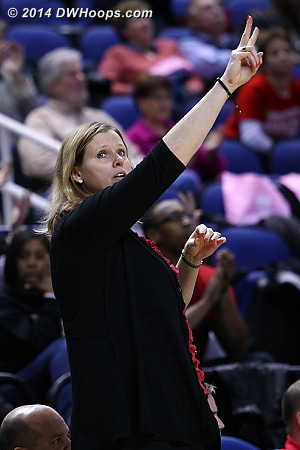 ACCWBBDigest Photo  - WAKE Players: Head Coach Jen Hoover