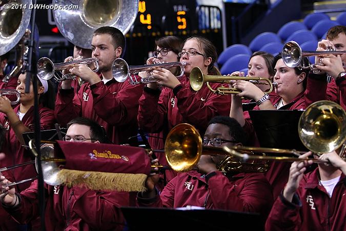 ACCWBBDigest Photo  - FSU Players:  FSU Band
