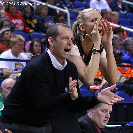 ACCWBBDigest Photo  - FSU Players: Assistant Coach Lance White, Assistant Coach Brooke Wyckoff