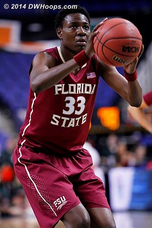 ACCWBBDigest Photo  - FSU Players: #33 Natasha Howard