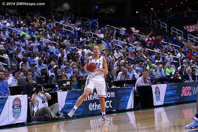A good look at press row in addition to Liston  - Duke Tags: #32 Tricia Liston