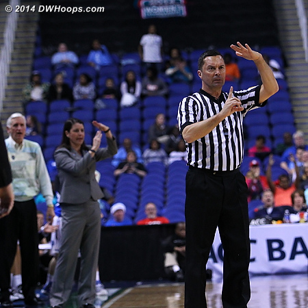 Key sequence: Technical foul on DeShields for taunting