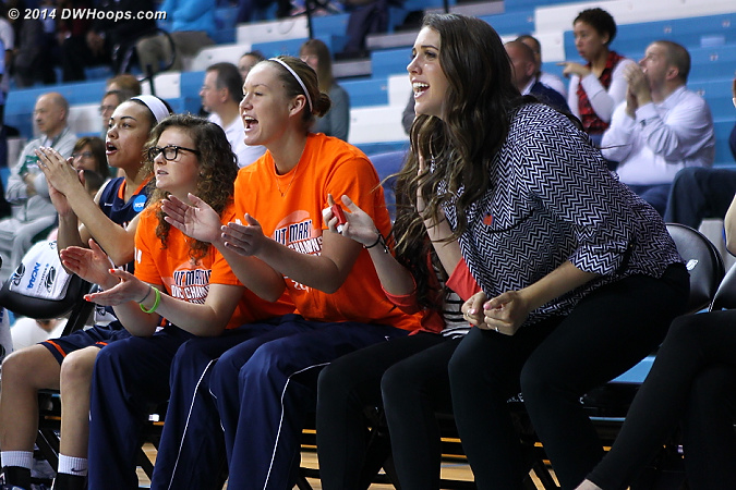 UT-Martin bench active