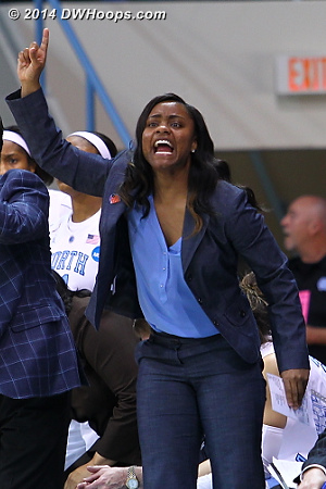 ACCWBBDigest Photo  - UNC Players: Assistant Coach Ivory Latta