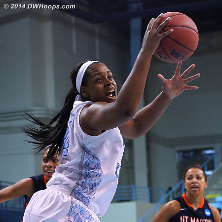 ACCWBBDigest Photo  - UNC Players: #34 Xylina McDaniel