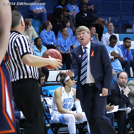 Looking for a call from Troy Winders  - UNC Players: Assistant Coach Andrew Calder