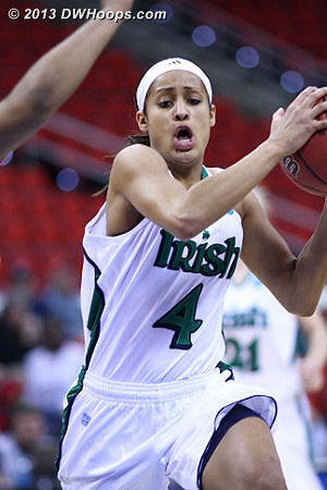 Notre Dame's Skylar Diggins will be playing with the urgency of a senior in this year's NCAA Tournament.